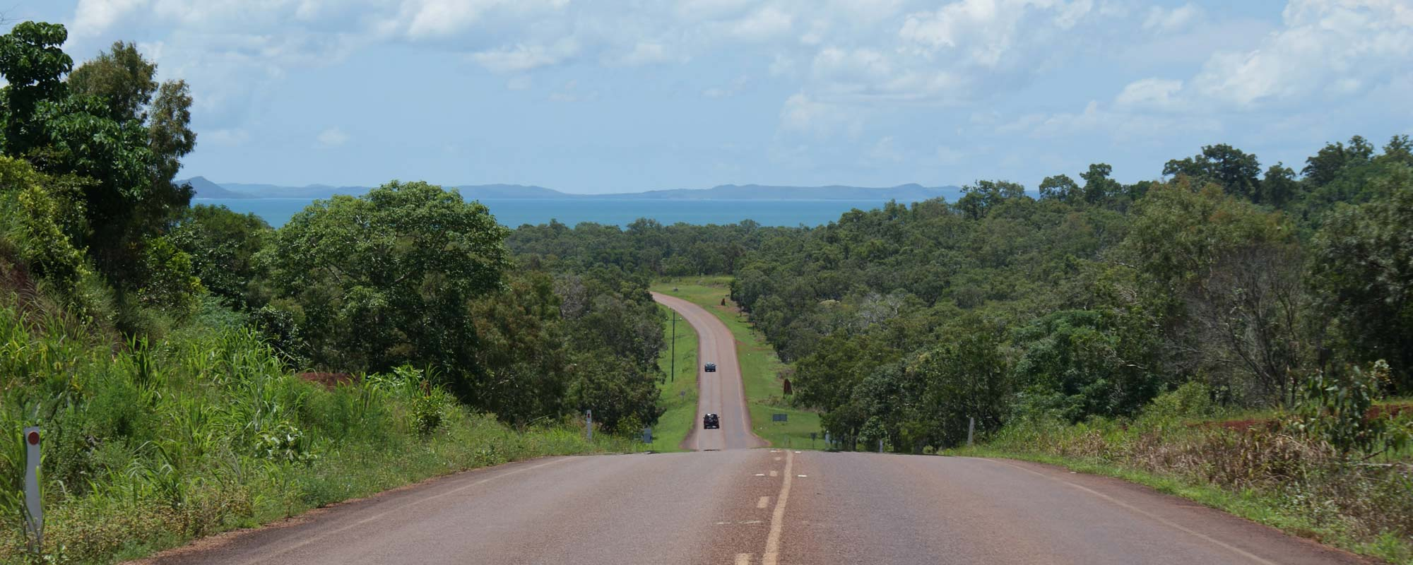Road to Seisia from Bamaga